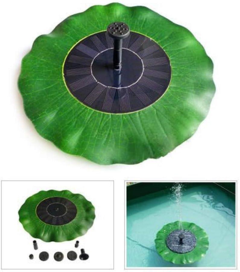 fontaine solaire fontaine flottante Mini pompe de fontaine de jardin fontaine ext/érieure