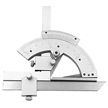 QST 0-320° Universal Stainless Steel Bevel Protractor