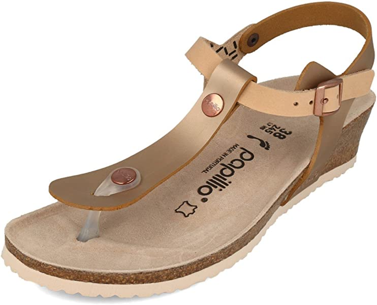 7b22a040530b Birkenstock Women s Fashion Sandals Frosted Metallic Rose Size  4 UK   Amazon.co.uk  Shoes   Bags
