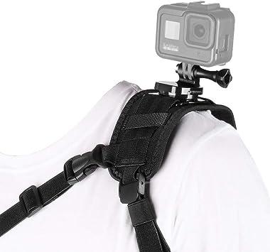 Camera Single Shoulder Black Belt Strap for GoPro Hero Outdoor Photography