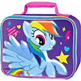 My Little Pony Purple with Pink Glitter Insulated Lunch Kit Tote