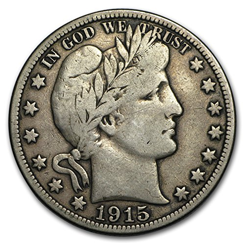 1915 S Barber Half Dollar Fine Half Dollar Fine
