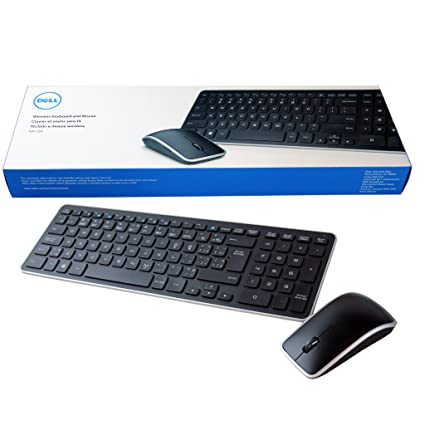 d88bfaa1bae Amazon.com: NEW Dell KM714 Keyboard Mouse Combo French Canadian w/  Receiver- 4TDH3: Computers & Accessories