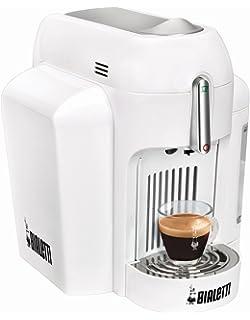 Bialetti Mini Express CF62 Independiente Totalmente automática Máquina de café en cápsulas 0.7L 1tazas Blanco