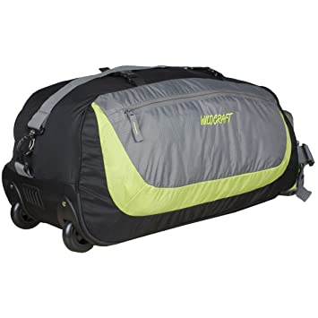 Wildcraft Rover Nylon 58.4 cms Green Softsided Travel Duffle  (8903338010678)  Amazon.in  Bags 1e798d2b02bd2