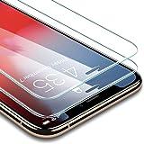 ESR iPhone X/XS ガラスフィルム 【旭硝子製5倍強化 2枚セット】 アイフォンXS ガラスフィルム 5.8インチ 強化ガラス 高品質 保護フィルム 業界最高硬度9H / 高光透過率 / 3D Touch/飛散防止 / 指紋防止