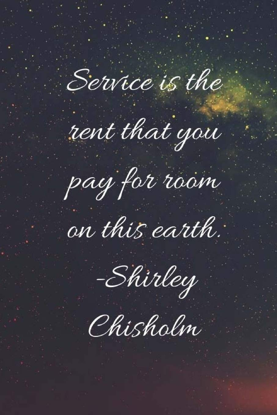 Service Is The Rent: Shirley Chisholm Speaks, Nubian Goddess ...