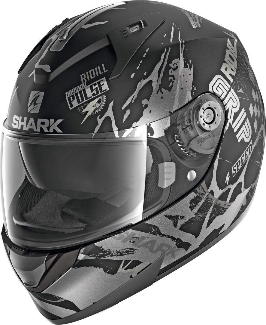 Shark Casco integral ridill drift-r negro antracita gris Kas talla S