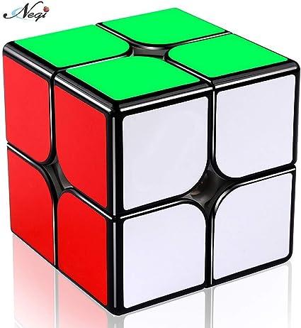 Negi Qiyi Black Base 2x2x2 Cube Puzzle Cube Toy 2x2 Black Cube Speed Cube