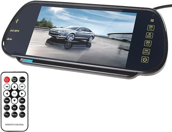 7inch Car Display Rearview Mirror LCD Digital HD Car Display Monitor Universal
