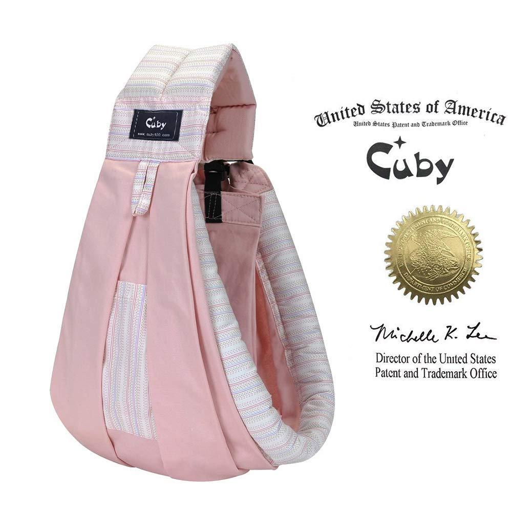 Cuby Porte-bébé Hamac De transport et allaitement Pour nouveau-nés (pink) CB201