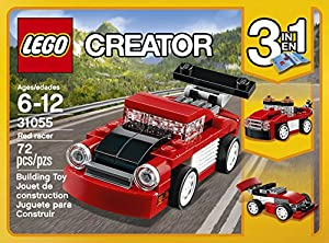 LEGO Creator Red Racer 31055 Building Kit by LEGO