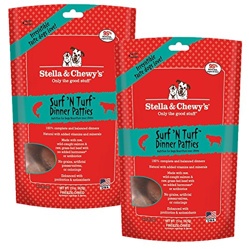 Stella & Chewy's Freeze-Dried Dog Food, Surf & Turf, 30 Ounce