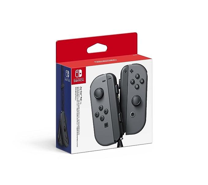Nintendo Switch Joy-Con Controller Pair - Grey: Amazon co uk: PC