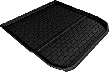 Black Kagu Rubber 3D MAXpider Cargo Custom Fit All-Weather Floor Mat Select Buick Enclave//Chevrolet Traverse Models
