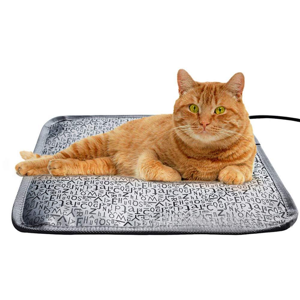 Euone ペット加熱マットクリアランス、ペットヒーティングマットブランケット 猫 犬 ヒーターパッド ベッド 冬 防水 B07KTKR1H2
