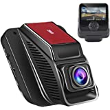 Modohe Car Dash Cam WiFi 1080P Car Camera, Supercapacitor, WDR Night Vision Dashboard, Car Video Recorder Camera Full-HD 170 Wide Angle 2.45 inch TFT LCD Screen USB Charging Vehicle Video Camera