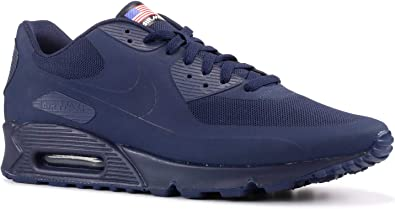 Amazon.com   Nike Mens Air Max 90 Hyp Qs Midnight Navy/Midnight ...