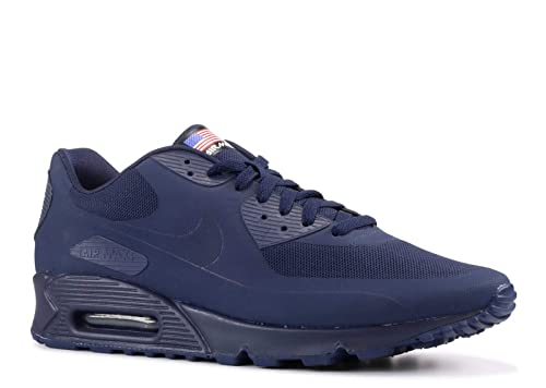 san francisco e5980 819c0 Nike Mens Air Max 90 Hyp Qs Midnight Navy Midnight Navy 613841-440 (