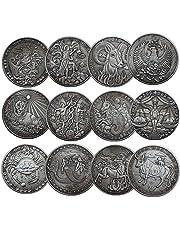 NLR 12 constelación de monedas conmemorativas Aries/Tauro/Géminis/Cáncer/Leo/Virgo/Libra/escorpión/Sagitario/Capricornio/Acuario/Piscis recuerdo Artes Colección-12 PC (Todas las 12 constelaciones)