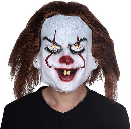 LZNFLY Mascara It Mask Penny Wise Disfraz Joker Máscara Tim Curry ...
