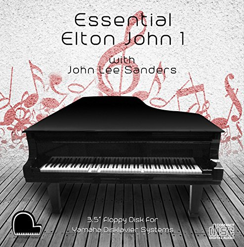 Essential Elton John 1 - Yamaha Disklavier Compatible Player Piano MP3's on 3.5'' DD 720k Floppy Disk