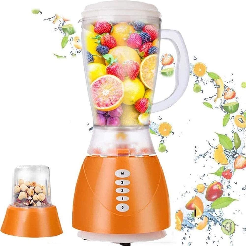 Smoothie Maker Mini Blender, 350w Commercial Blender, 1.5l Electric Juice Extractor Kitchen High Speed Jug Blender Machine, Easy To Clean Simple, Durable, Drop-Proof, Waterproof Juicer For Home, Offic