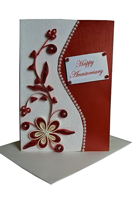 Mishti creations handmade happy wedding anniversary greeting card mishti creations handmade happy wedding anniversary greeting card m4hsunfo