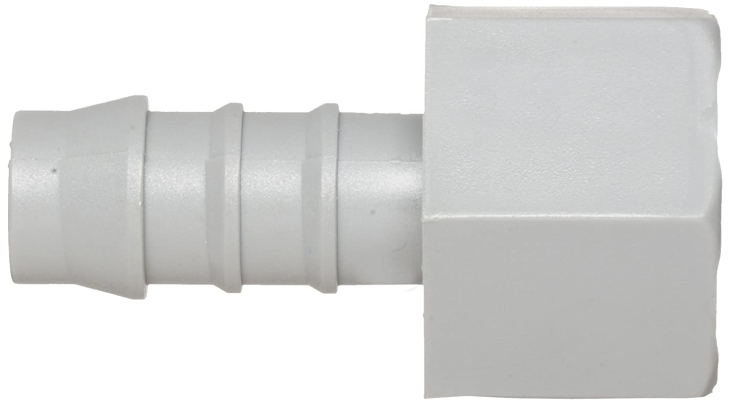Adapter Pack of 10 5//8 Hose ID x 1//2 NPT Female Gray Tefen Nylon 66 Hose Fitting