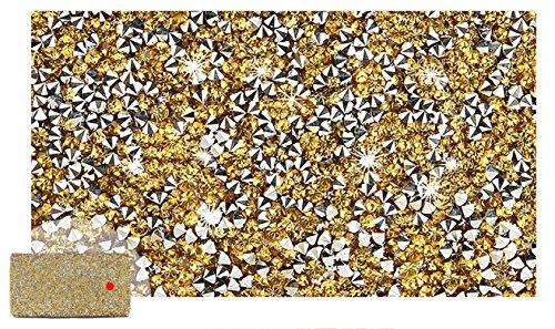 Bag Bag Party Diamond Shoulder Bridal YYY Bag Hand Cross Bag Golden Hand Dress WLQ Bag Diamond Bag Women's Imitation pqWBR1zBH