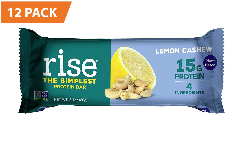 Amazon.com : Rise Bar Non-GMO, Gluten Free, Soy Free, Real Whole ...