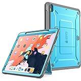 适用于 iPad Pro 11,2018的SUPCASE UB Pro 系列保护套,支持铅笔充电,内置屏幕保护膜,全身坚固支架保护套,适用于 iPad Pro 11 英寸 2018 年发布版