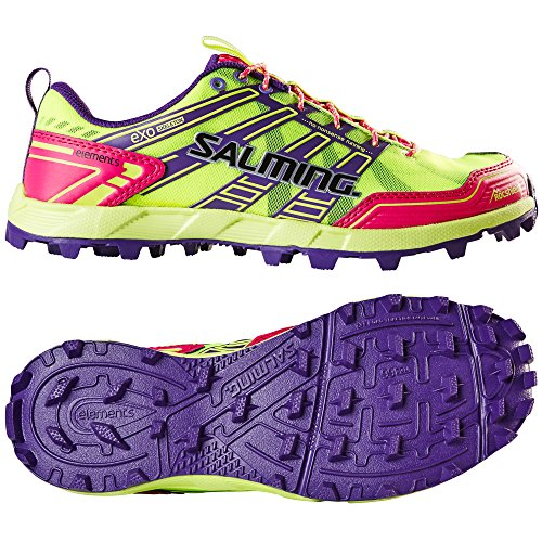 Salming Elements Running Pink Ladies Shoes UWOqFwg