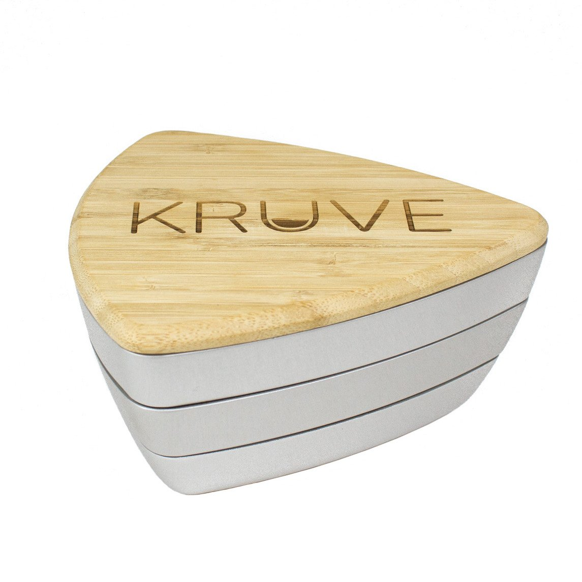 KRUVE Sifter Six Helps accurately Measure, Calibrate, Refine Coffee Grinds, for Cafes, Baristas, or Home Brewers 6 Sieves Silver