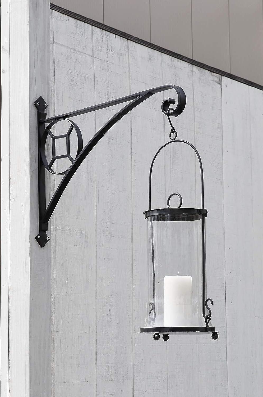 Amazon.com: Achla diseños Corona Bracket, L, Negro: Jardín y ...