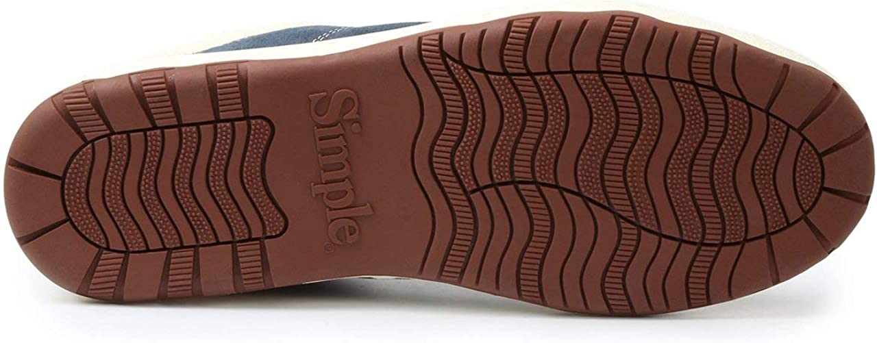Amazon.com: OS Sneaker - Suede - Navy