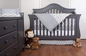 100/%COTTON Cot Bed Duvet Cover Set /& Bumper  Stars Chevron Zig Boy Girl  simply