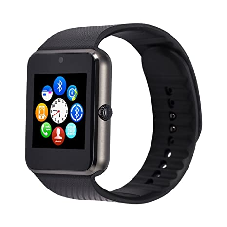 Amazon.com: Smart Watch, Leo GT08 Touch Screen Bluetooth ...