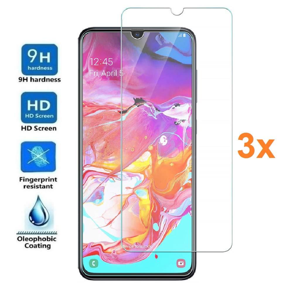 Vidrio Templado Samsung A70 [3un.] REY