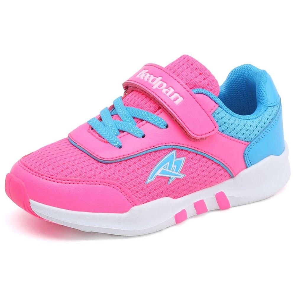 U-MAC Breathable Mesh Running Shoes kids Foam Sole Anti-slip Boys Girls Velcro Casual Walking Sneakers by U-MAC