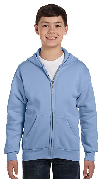 114b58ee7ea1 Image Unavailable. Image not available for. Color  Hanes boys Comfortblend EcoSmart  Full-Zip Hoodie ...