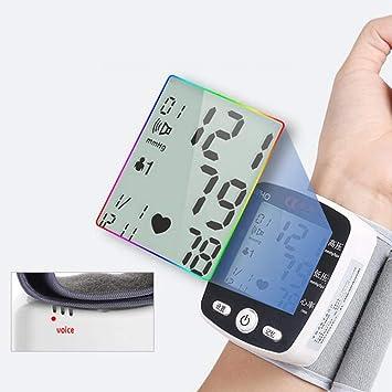 Blood Pressure Meter LCD Digital Display Muñeca Automática Monitor De Presión Arterial con Brazalete Hogar Uso