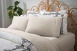 Magnolia Organics Dream Collection Pillowcase Pair - Standard, Natural