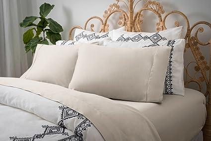Magnolia Organics Dream Collection Sheet Set   Queen, Natural