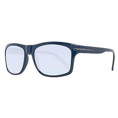 Guess GU0128-56M46 Gafas de Sol, Azul, 56 para Hombre ...