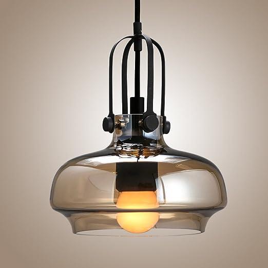 Spherical glass pendant lamp motent industrial retro amber glass spherical glass pendant lamp motent industrial retro amber glass chandelier lighting fixture loft mini sphere aloadofball Images