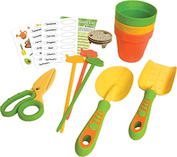 Amazon.com : Tailor Made Products TCG55012 Curious Chef Gardener Growers Set44; 12 Piece : Baby