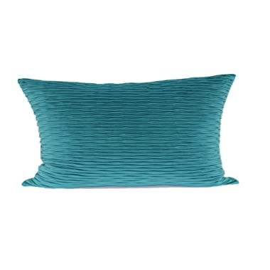 Brentwood Originals 6467 Ripple Plush Throw Pillow, Teal