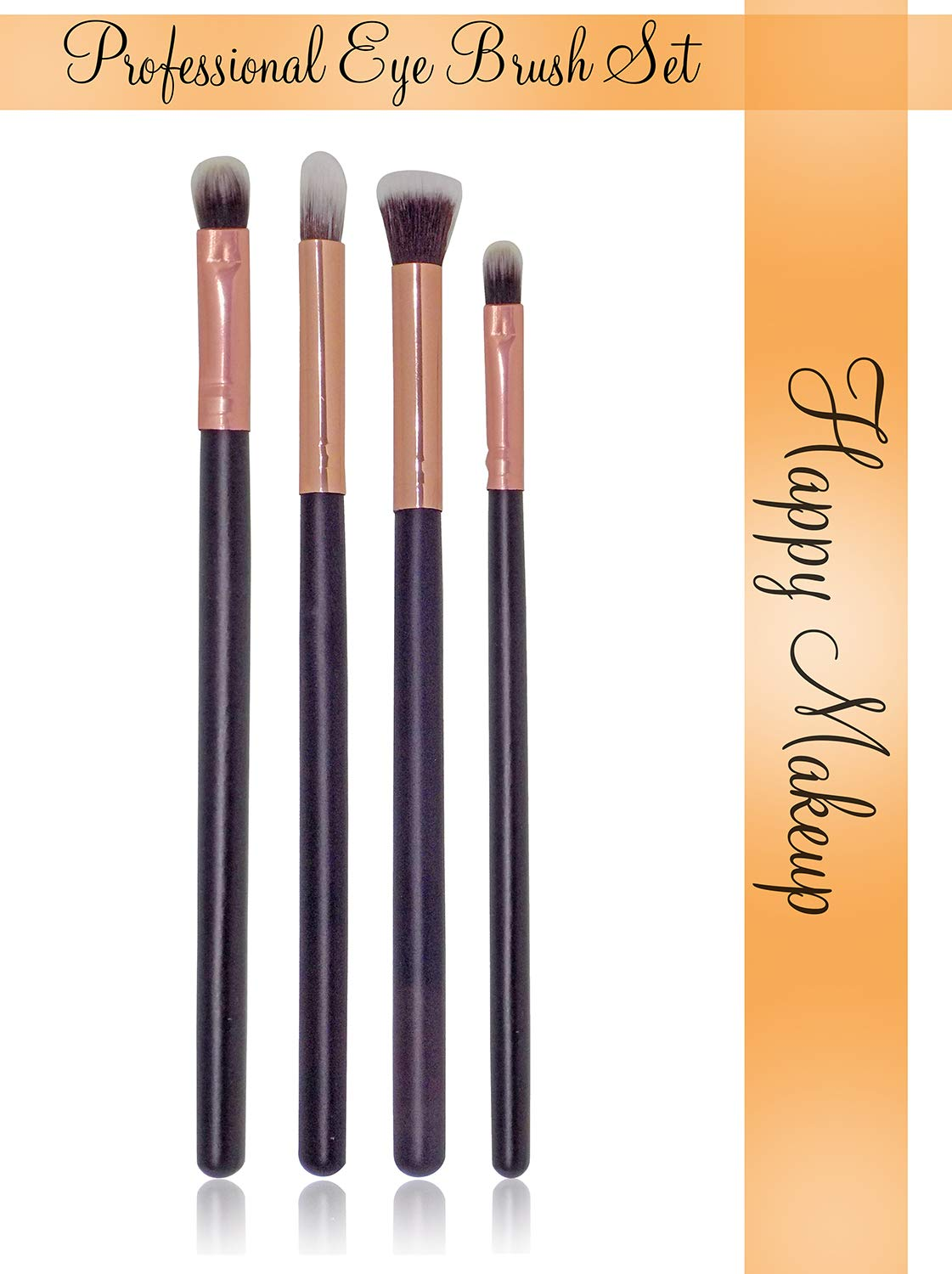 Kabello Eye Makeup Brush Set For Parlour And Home Use Brushes, Brown, 15 Grams, Pack Of 1: Amazon.in: Beauty
