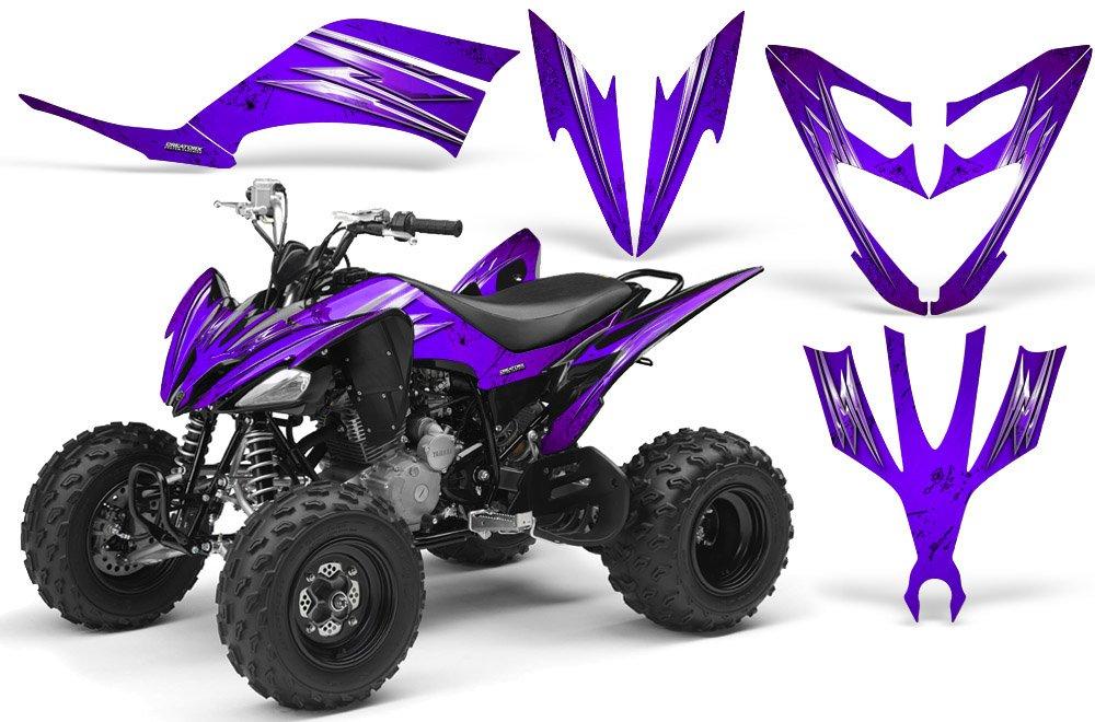 CreatorX Yamaha Raptor 250 Graphics Cold Fusion Purple